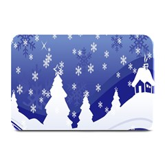 Vector Christmas Design Plate Mats