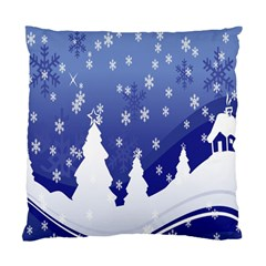 Vector Christmas Design Standard Cushion Case (Two Sides)