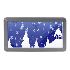 Vector Christmas Design Memory Card Reader (Mini)