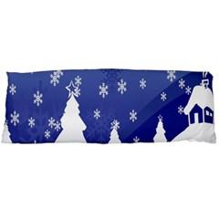 Vector Christmas Design Body Pillow Case (Dakimakura)