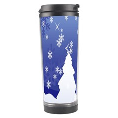 Vector Christmas Design Travel Tumbler