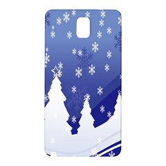 Vector Christmas Design Samsung Galaxy Note 3 N9005 Hardshell Back Case