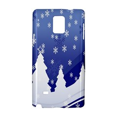 Vector Christmas Design Samsung Galaxy Note 4 Hardshell Case