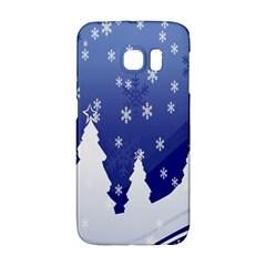 Vector Christmas Design Galaxy S6 Edge