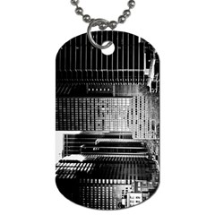 Urban Scene Street Road Busy Cars Dog Tag (one Side)