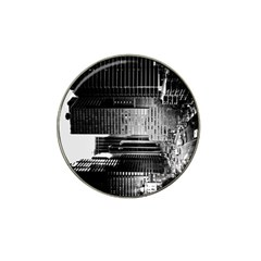 Urban Scene Street Road Busy Cars Hat Clip Ball Marker (4 pack)