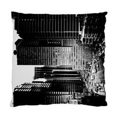 Urban Scene Street Road Busy Cars Standard Cushion Case (One Side)