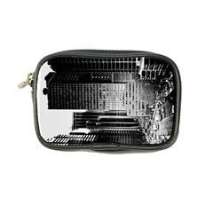 Urban Scene Street Road Busy Cars Coin Purse
