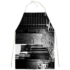 Urban Scene Street Road Busy Cars Full Print Aprons
