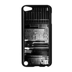 Urban Scene Street Road Busy Cars Apple Ipod Touch 5 Case (black)
