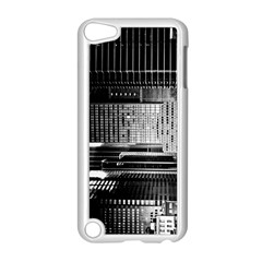 Urban Scene Street Road Busy Cars Apple Ipod Touch 5 Case (white)