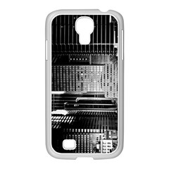Urban Scene Street Road Busy Cars Samsung Galaxy S4 I9500/ I9505 Case (white)