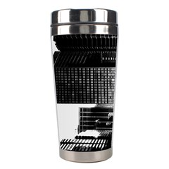 Urban Scene Street Road Busy Cars Stainless Steel Travel Tumblers