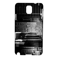 Urban Scene Street Road Busy Cars Samsung Galaxy Note 3 N9005 Hardshell Case