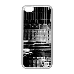 Urban Scene Street Road Busy Cars Apple Iphone 5c Seamless Case (white)