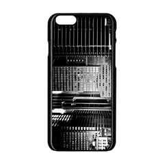 Urban Scene Street Road Busy Cars Apple Iphone 6/6s Black Enamel Case