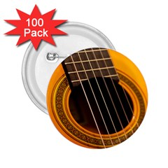 Vintage Guitar Acustic 2.25  Buttons (100 pack)