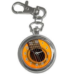 Vintage Guitar Acustic Key Chain Watches