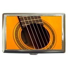 Vintage Guitar Acustic Cigarette Money Cases