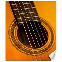 Vintage Guitar Acustic Canvas 20  x 24