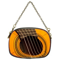 Vintage Guitar Acustic Chain Purses (One Side)