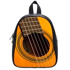 Vintage Guitar Acustic School Bags (small)