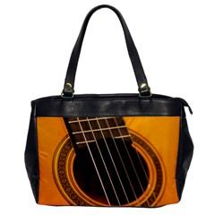 Vintage Guitar Acustic Office Handbags