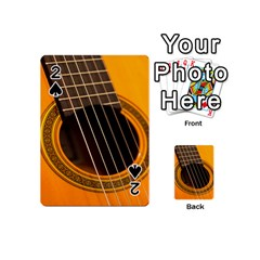 Vintage Guitar Acustic Playing Cards 54 (mini)