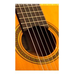 Vintage Guitar Acustic Shower Curtain 48  x 72  (Small)