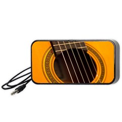Vintage Guitar Acustic Portable Speaker (black)