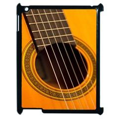 Vintage Guitar Acustic Apple iPad 2 Case (Black)