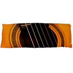 Vintage Guitar Acustic Body Pillow Case (Dakimakura)