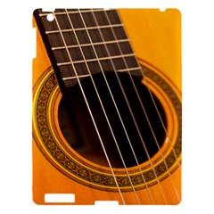 Vintage Guitar Acustic Apple Ipad 3/4 Hardshell Case