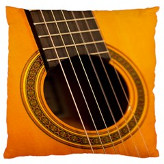 Vintage Guitar Acustic Large Cushion Case (two Sides)