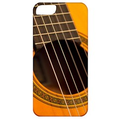 Vintage Guitar Acustic Apple Iphone 5 Classic Hardshell Case