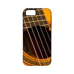 Vintage Guitar Acustic Apple Iphone 5 Classic Hardshell Case (pc+silicone)