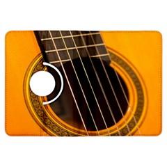 Vintage Guitar Acustic Kindle Fire Hdx Flip 360 Case