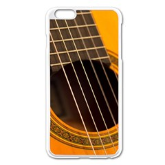Vintage Guitar Acustic Apple Iphone 6 Plus/6s Plus Enamel White Case