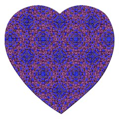 Tile Background Image Pattern Jigsaw Puzzle (Heart)