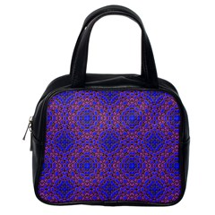 Tile Background Image Pattern Classic Handbags (One Side)