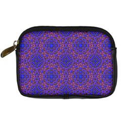 Tile Background Image Pattern Digital Camera Cases