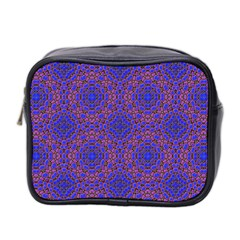 Tile Background Image Pattern Mini Toiletries Bag 2 Side