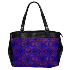 Tile Background Image Pattern Office Handbags