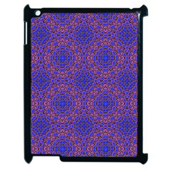 Tile Background Image Pattern Apple iPad 2 Case (Black)