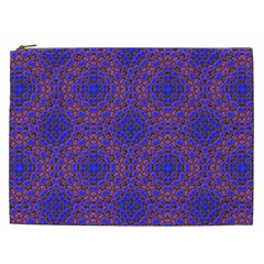 Tile Background Image Pattern Cosmetic Bag (XXL)