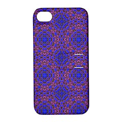Tile Background Image Pattern Apple iPhone 4/4S Hardshell Case with Stand