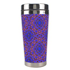 Tile Background Image Pattern Stainless Steel Travel Tumblers