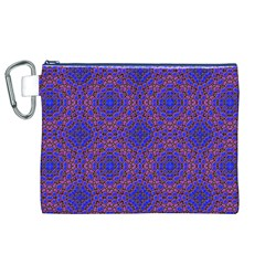 Tile Background Image Pattern Canvas Cosmetic Bag (XL)