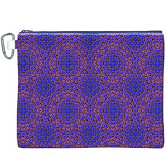 Tile Background Image Pattern Canvas Cosmetic Bag (xxxl)
