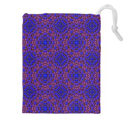 Tile Background Image Pattern Drawstring Pouches (XXL)